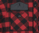 Red Buffalo Plaid Wool Sportsman Jacket - Pocket Detail