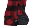 Red Buffalo Plaid Wool Sportsman Jacket - Cuff