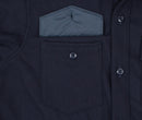 Navy Wool Sportsman Jacket - Pocket Detail