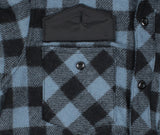 Dull Sky Buffalo Plaid Wool Sportsman Jacket - Pocket