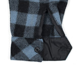 Dull Sky Buffalo Plaid Wool Sportsman Jacket - Cuff