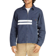 StoneWashedCompJacket_MENS_OUTERWEAR_NAVY_MA9003 On Model Front View