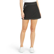 SurfStretchWrap_WOMENS_BOARDSHORTS-CLASSIC_BLACK_WA3406 On Model Front View