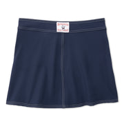 SurfStretchWrap_WOMENS_BOARDSHORTS-CLASSIC_NAVY_WA3406 Flat Lay Back View