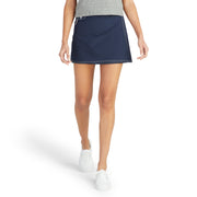 SurfStretchWrap_WOMENS_BOARDSHORTS-CLASSIC_NAVY_WA3406 On Model Front View