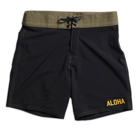 808 Limited-Edition Tropical Mission Board Shorts - Black