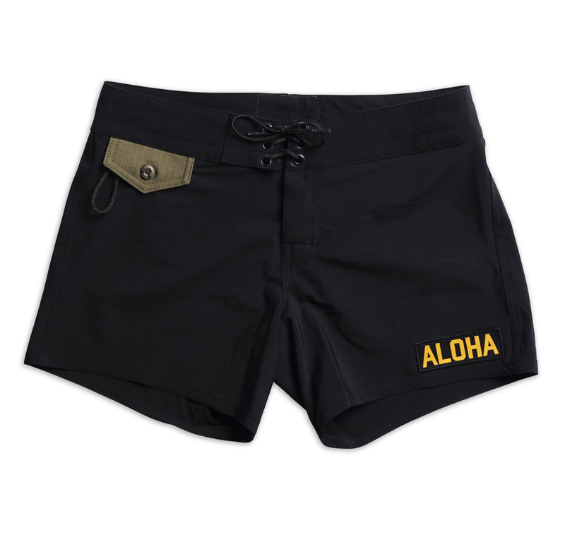 405 Limited-Edition Tropical Mission Board Shorts - Black
