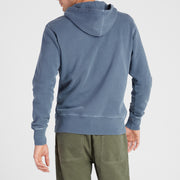 Cayucos Pullover Hoodie - Indigo On Model Back