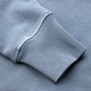 Cayucos Pullover Hoodie - Indigo Up Close Sleeve