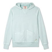 Cayucos Pullover Hoodie - Seafoam lay Flat Front