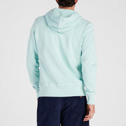Cayucos Pullover Hoodie - Seafoam On Model Back