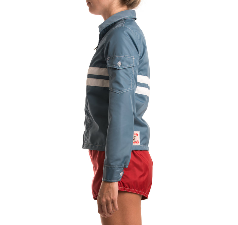 Womens Competition Jacket - Federal Blue & White