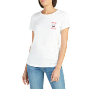 WomensBirdwellTShirt_WOMENS_T-SHIRT_WHITE_WA1004 On Model Front View