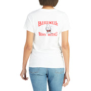 WomensBirdwellTShirt_WOMENS_T-SHIRT_WHITE_WA1004 On Model Back View