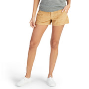 Women's Corduroy Shorts - Toast