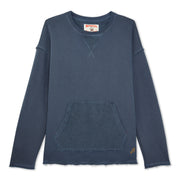 Women's Garment Dyed Hermosa Crew - Navy
