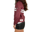 Women's SurfNyl Competition Jacket - Left (On Model)