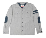 Wool CPO Shirt - Light Grey
