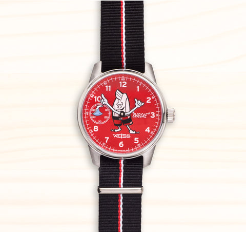 "Collector's Edition ""Birdie"" Surf Watch - Red"
