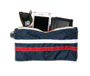 Navy & Red SurfNyl Gear Bag - Fill With Example Items