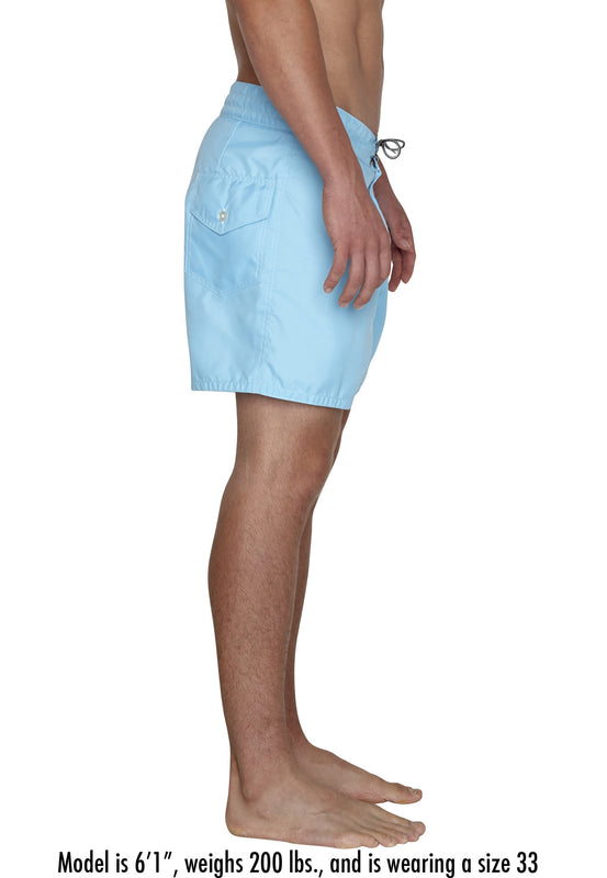 301 Board Shorts - Light Blue