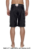 323 Board Shorts - Black
