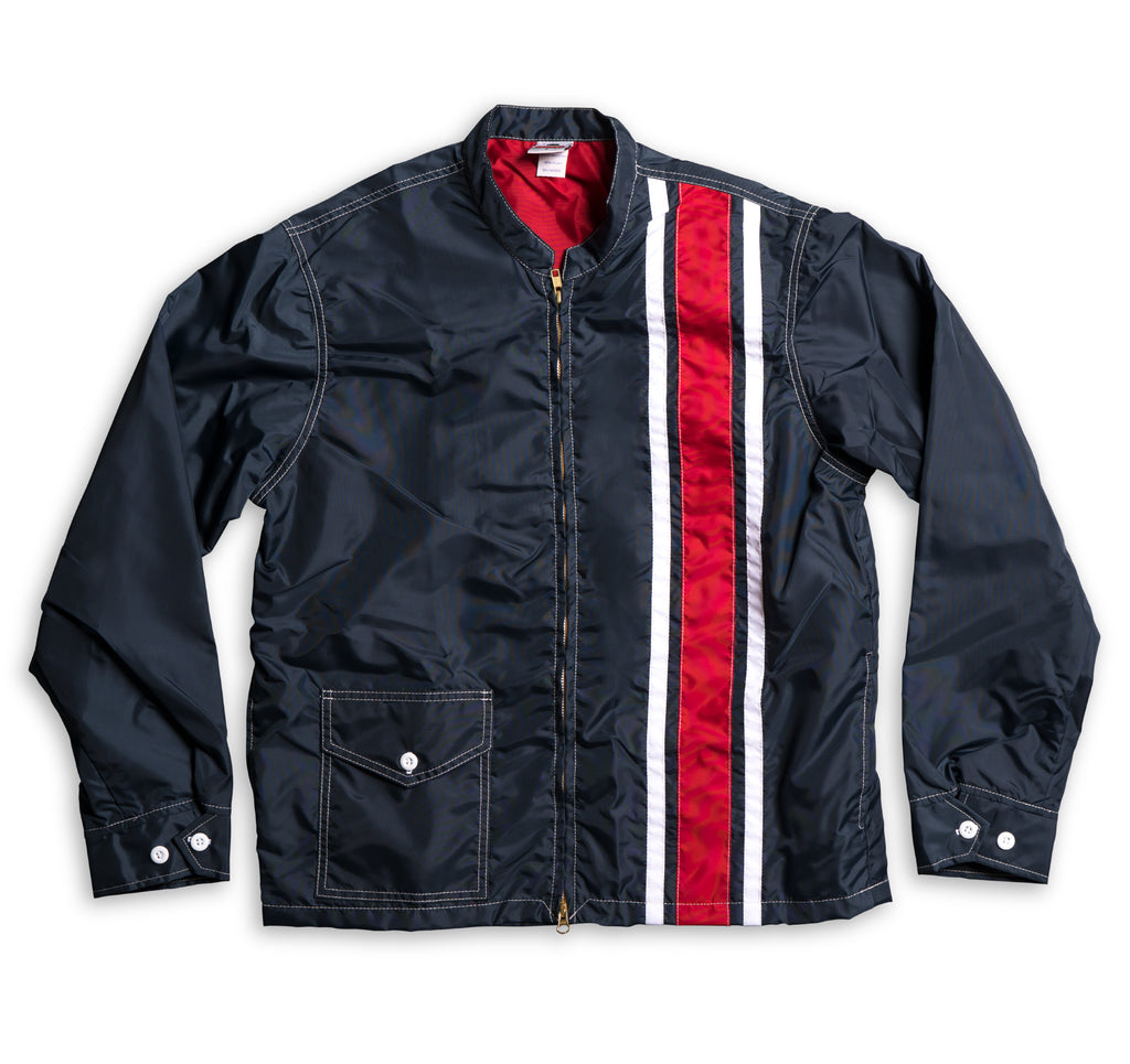 Men's Limited-Edition 3 Stripe Racing Jacket - Navy ...