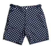 SurfStretch Tac Shorts - Polka Dot Flat Lay Front View