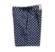 SurfStretch Tac Shorts - Polka Dot Flat Lay Left Side View