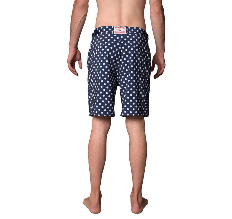 SurfStretch Tac Shorts - Polka Dot