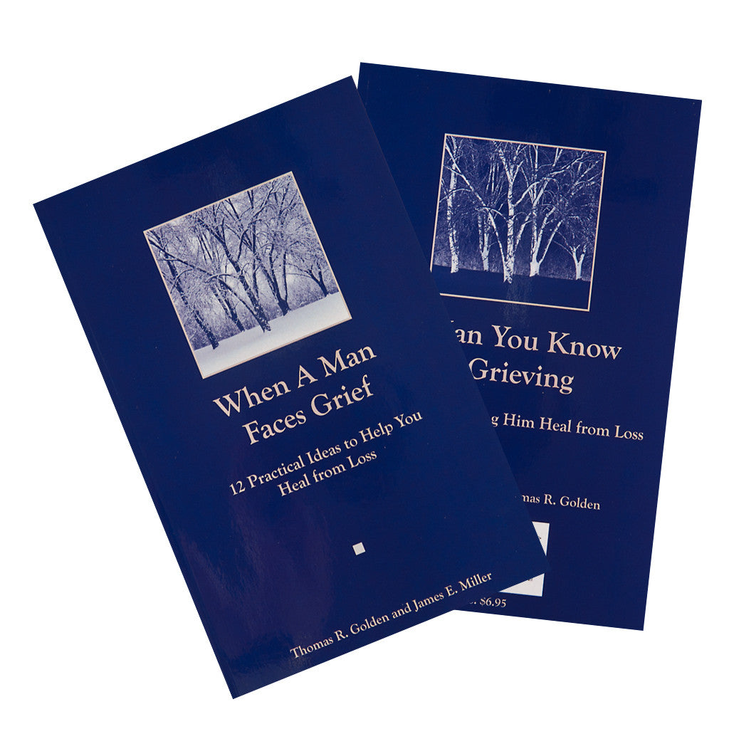 When A Man Faces Grief & A Man You Know Is Grieving—The Double Book