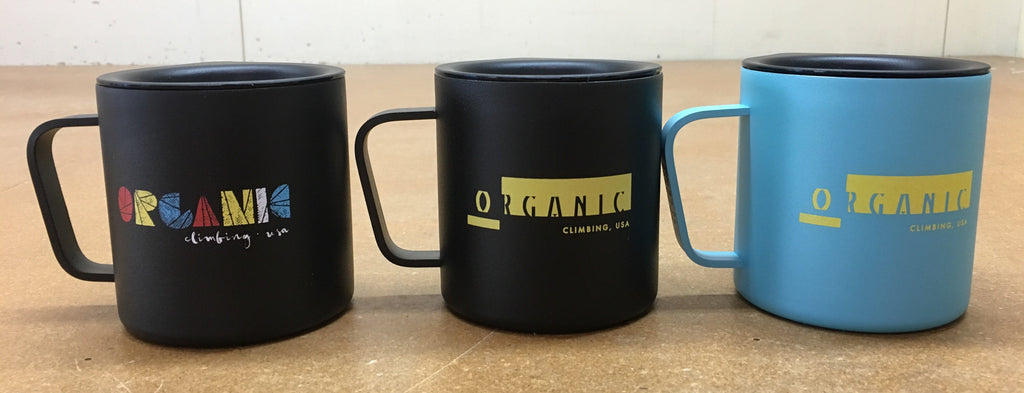ORGANIC Climbing X Miir Collaboration Camp Mug