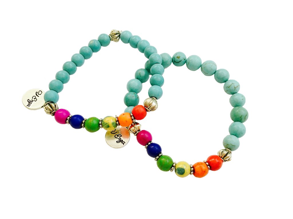Children's Rainbow Bracelet - Jewelry for Kids | V'Enza Creations