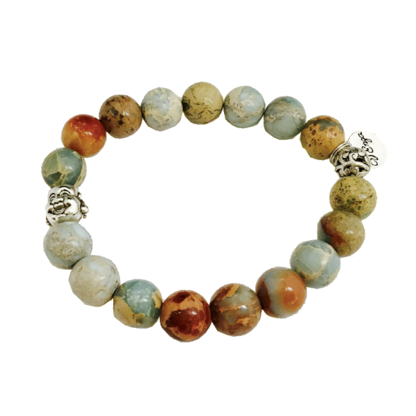 Chubby Buddha Bracelet - Jewelry for Women | V'Enza Creations