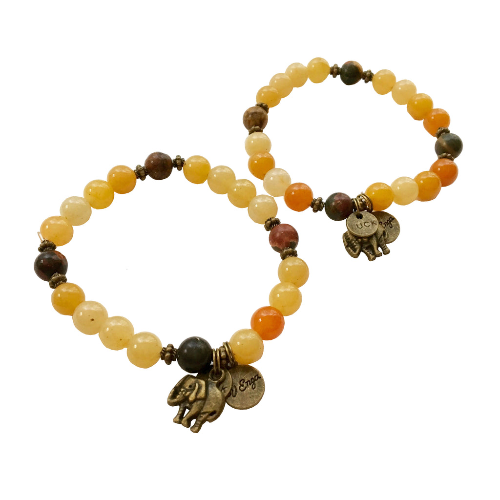 Lucky Elephant Bracelet - Jewelry for Women | V'Enza Creations
