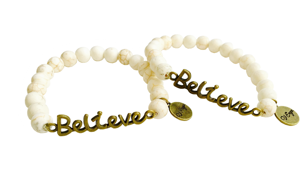 Bronze Believe Bracelet - Jewelry for Women | V'Enza Creations