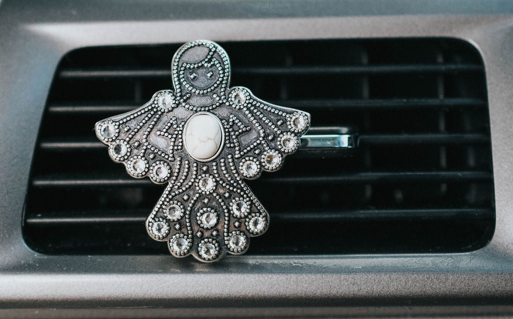 Angel Car Vent Clip (Essential Oil) Carma Car Collection | V'Enza Creations