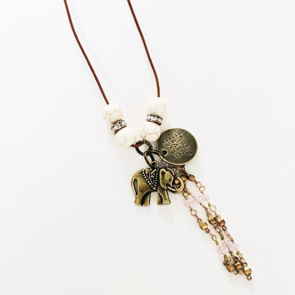 Elephant Boho Necklaces - Jewelry for Women | V'Enza Creations