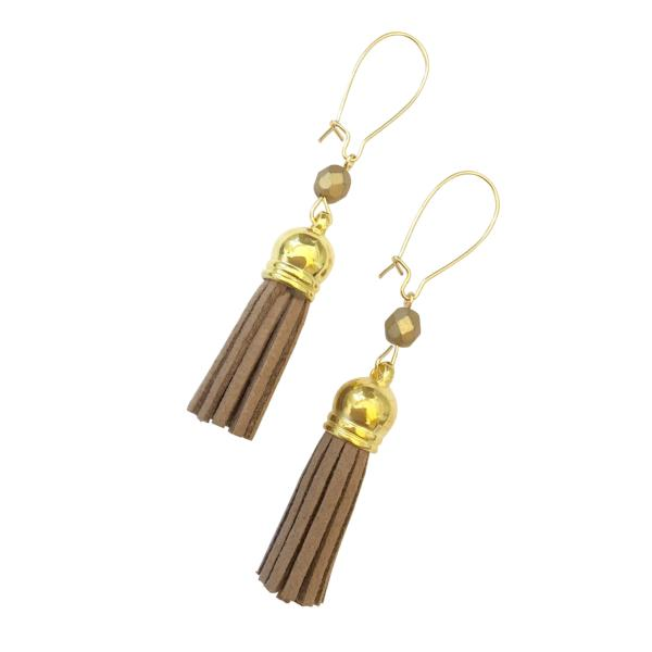 Tassel Earrings - Jewelry for Women | V'Enza Creations