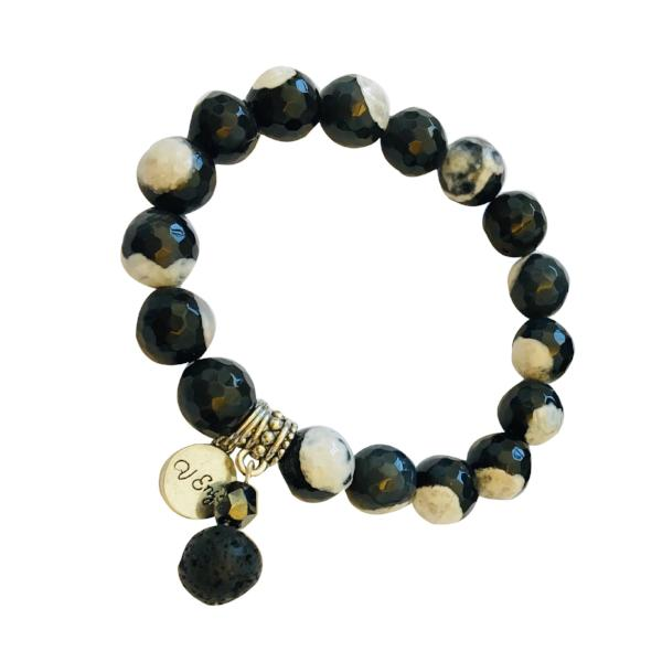 Essential Oil Bracelet ~ Enza - Jewelry for Women | V'Enza Creations