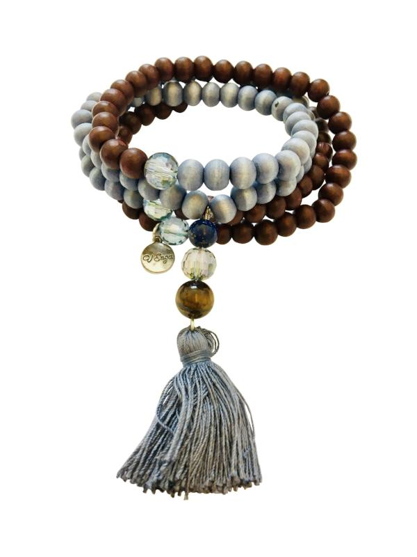 Mala of Power Necklace, Bracelet - Jewelry for Women and Men | V'Enza Creations