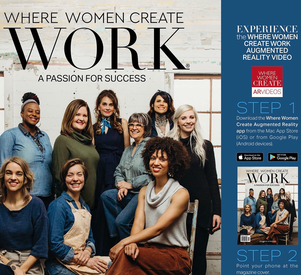 Magazine: Where Women Create Work - March 2019 | V'Enza Feature