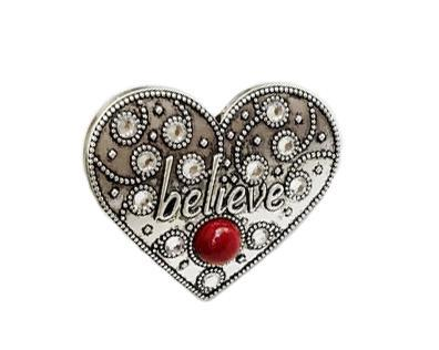Believe Heart Car Vent Clip - Carma Car Collection | V'Enza