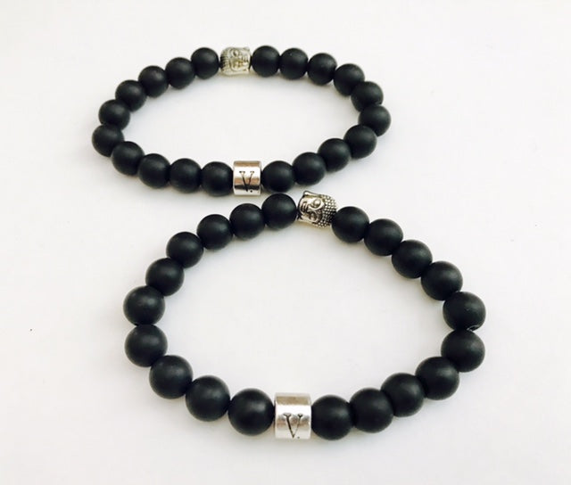 Buddha Bracelet - Jewelry for Men | Victory Line | V'Enza Creations