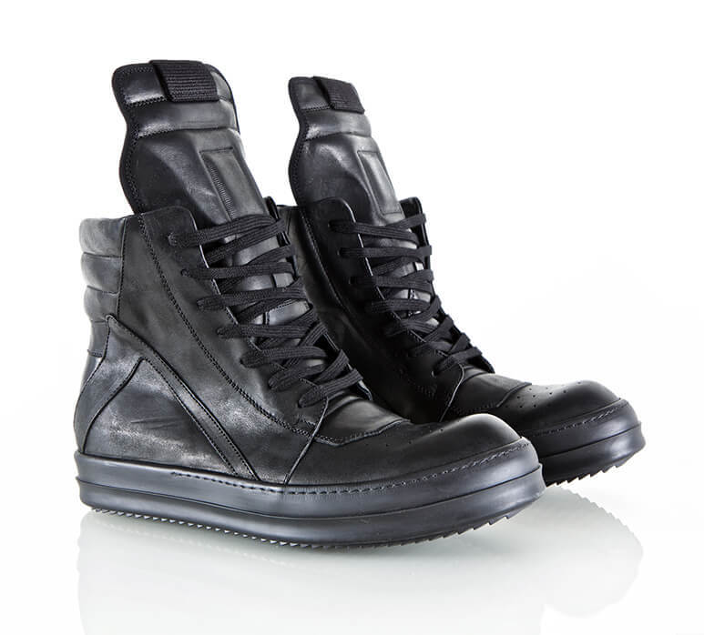 GALLERY AESTHETE EXCLUSIVE: Rick Owens x Guidi Horse Leather Geobasket