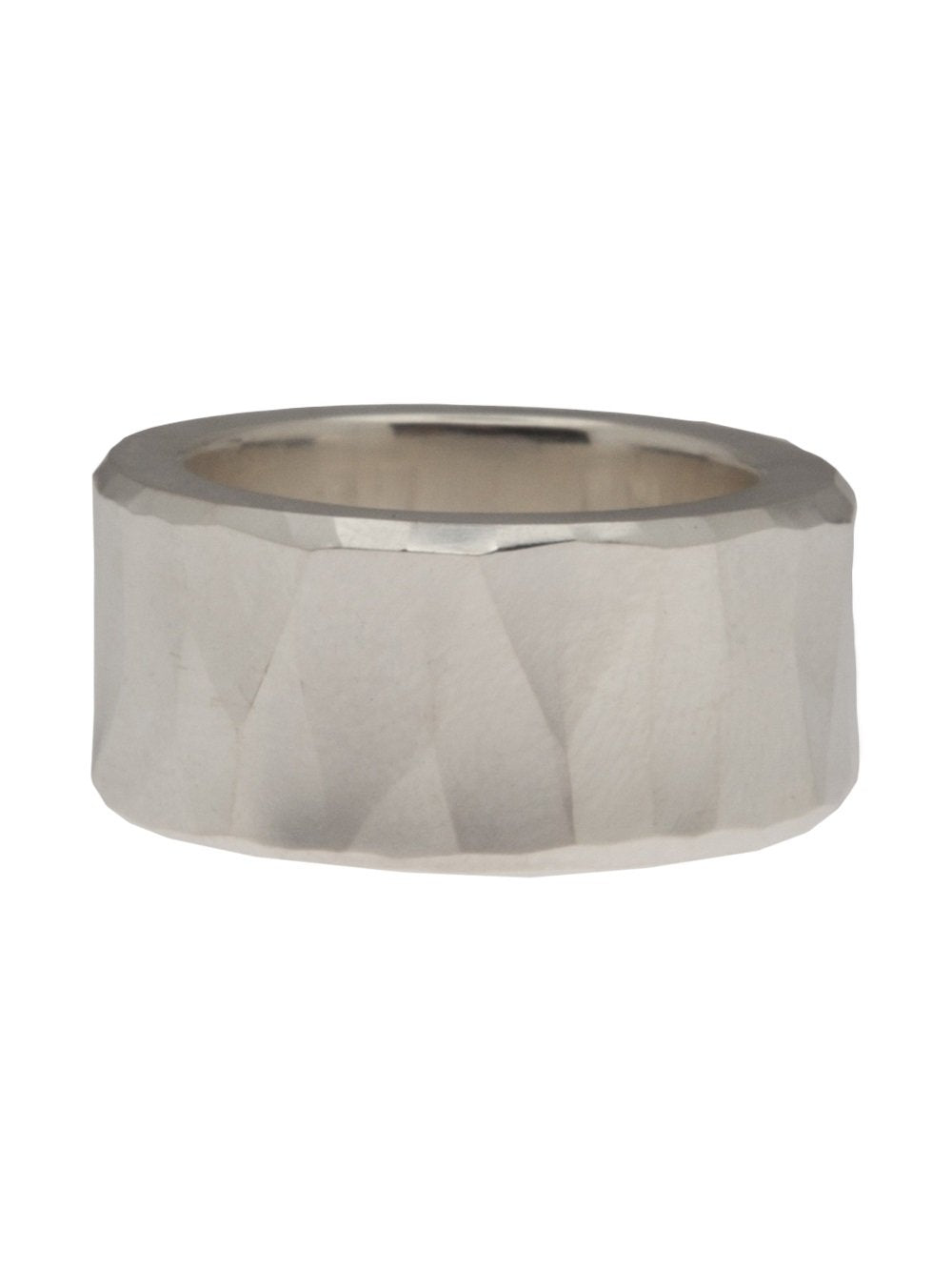 ROUGH HAMMERED RING