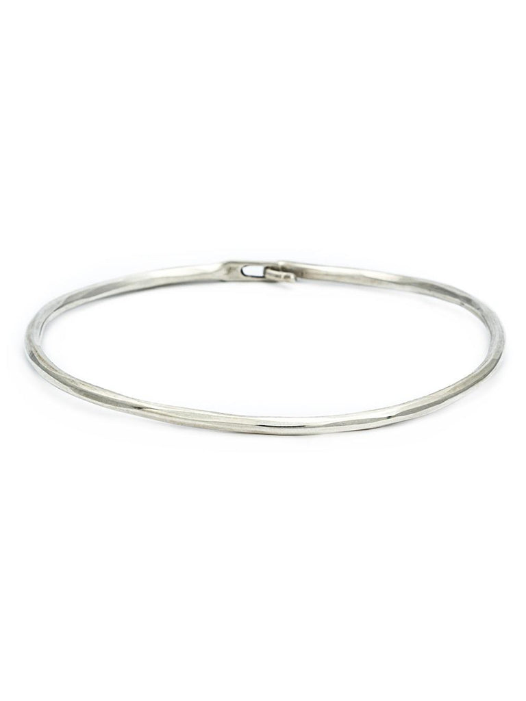HAMMERED HOOK BANGLE