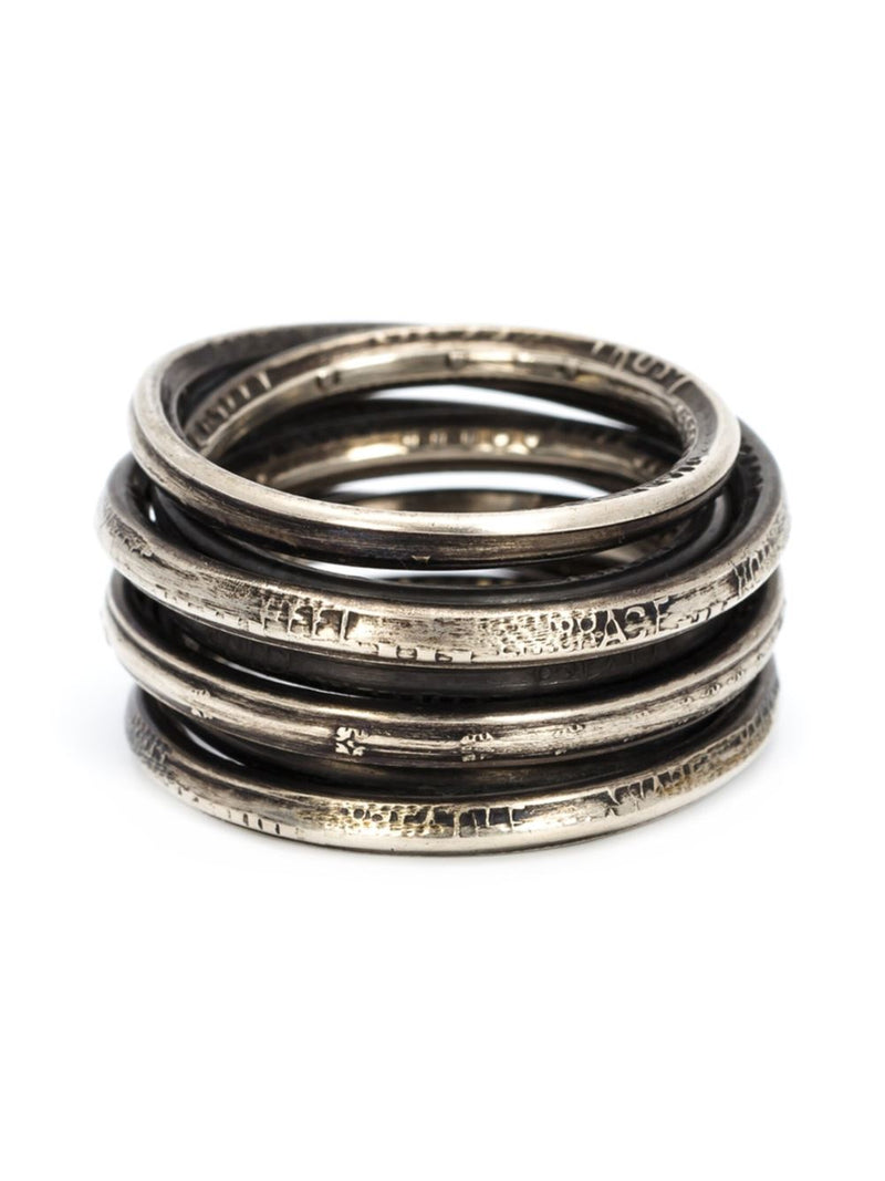 WORDS WOUND RING