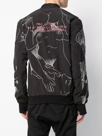 PORN EMBROIDERED BOMBER