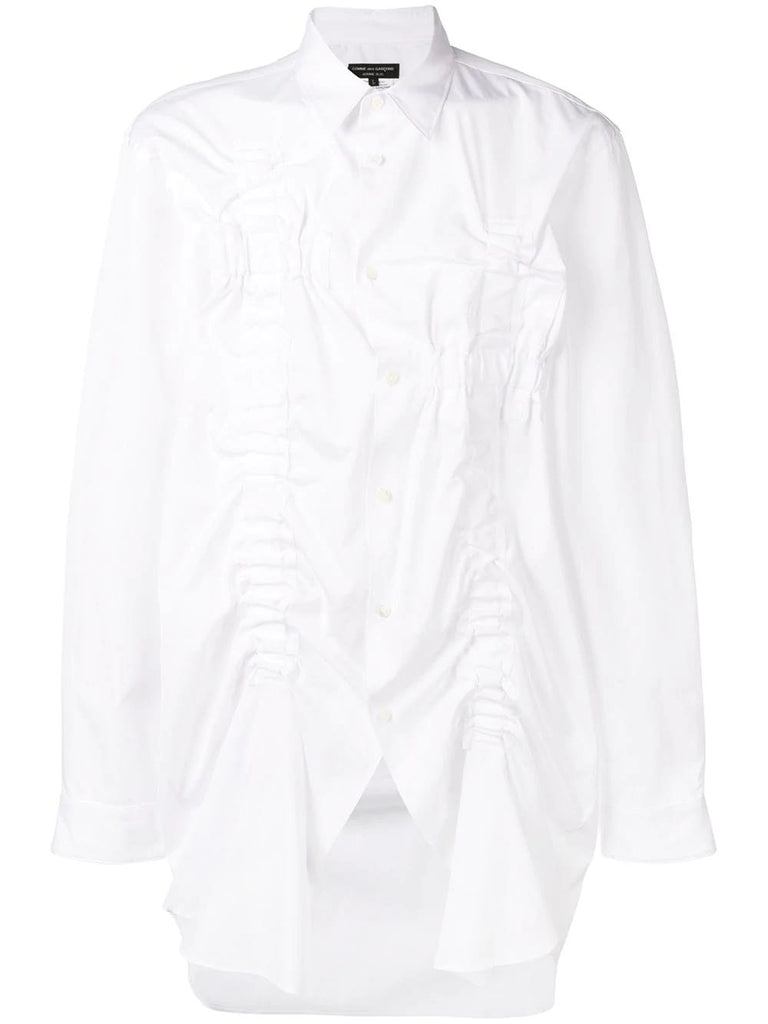 OVERSIZE RUCHED SHIRT